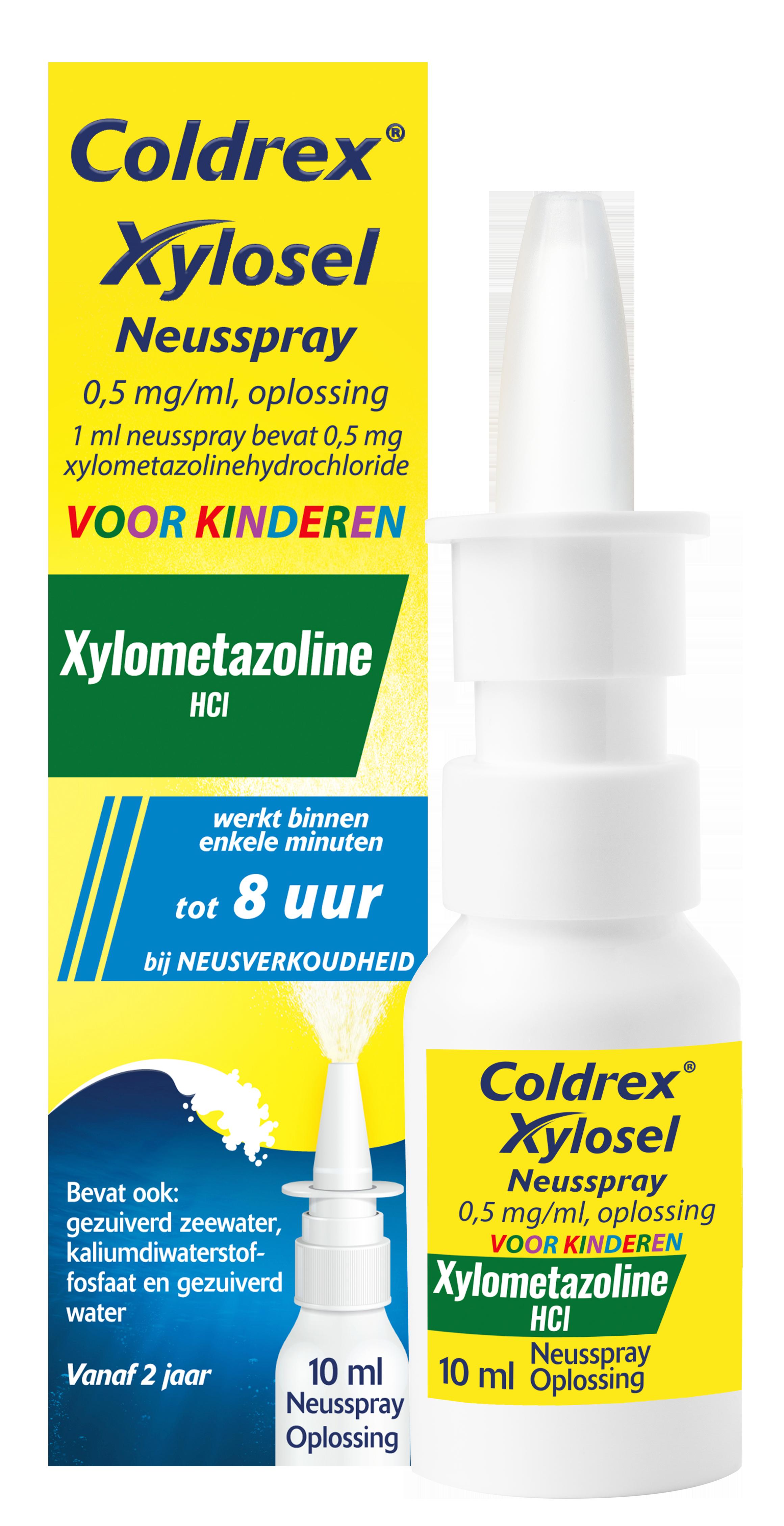 Coldrex Xylosel Neusspray voor kinderen